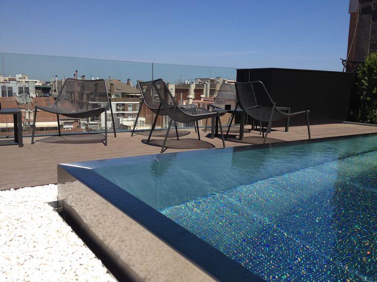 Bazzaark piscina acero inox atico bazzaark showroom - Piscina terraza atico ...